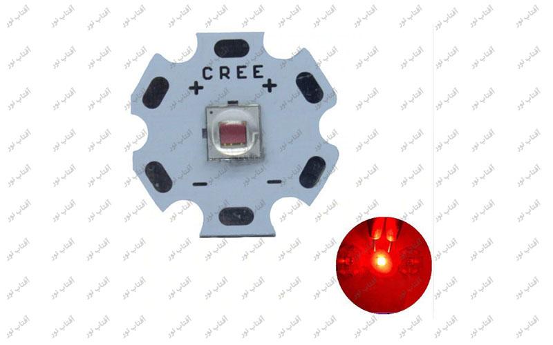 ال ای دی 10 وات CREE قرمز