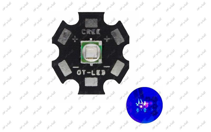 ال ای دی 10 وات CREE  UV