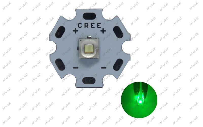 ال ای دی 10 وات CREE سبز
