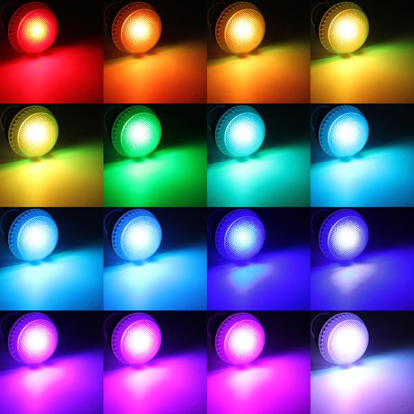 ولتاژ و جریان ال ای دی ها با رنگ های مختلف